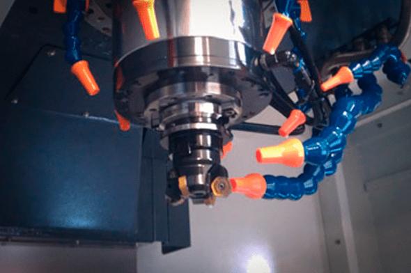 CNC fræsning og drejning udføres af Vestjysk Rustfri Montage